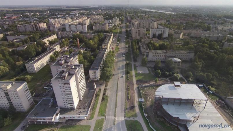Улица Большая Московская. © Фото из архива интернет-портала «Новгород.ру»