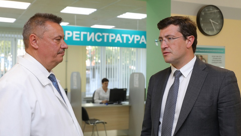 © Пресс-центр правительства Нижегородской области