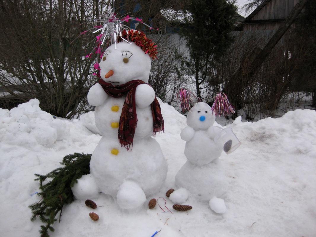 спектр варианты лепки снеговиков фото очень живучий