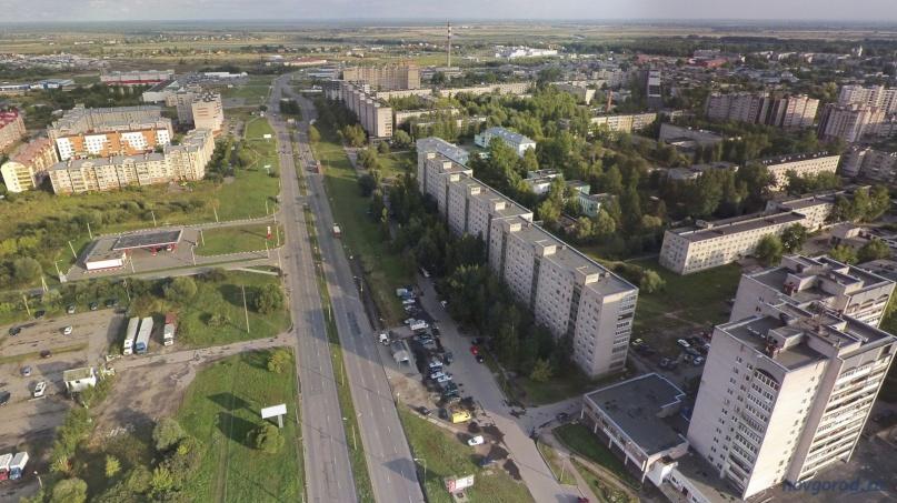 ул. Державина. © Фото из архива интернет-портала «Новгород.ру»