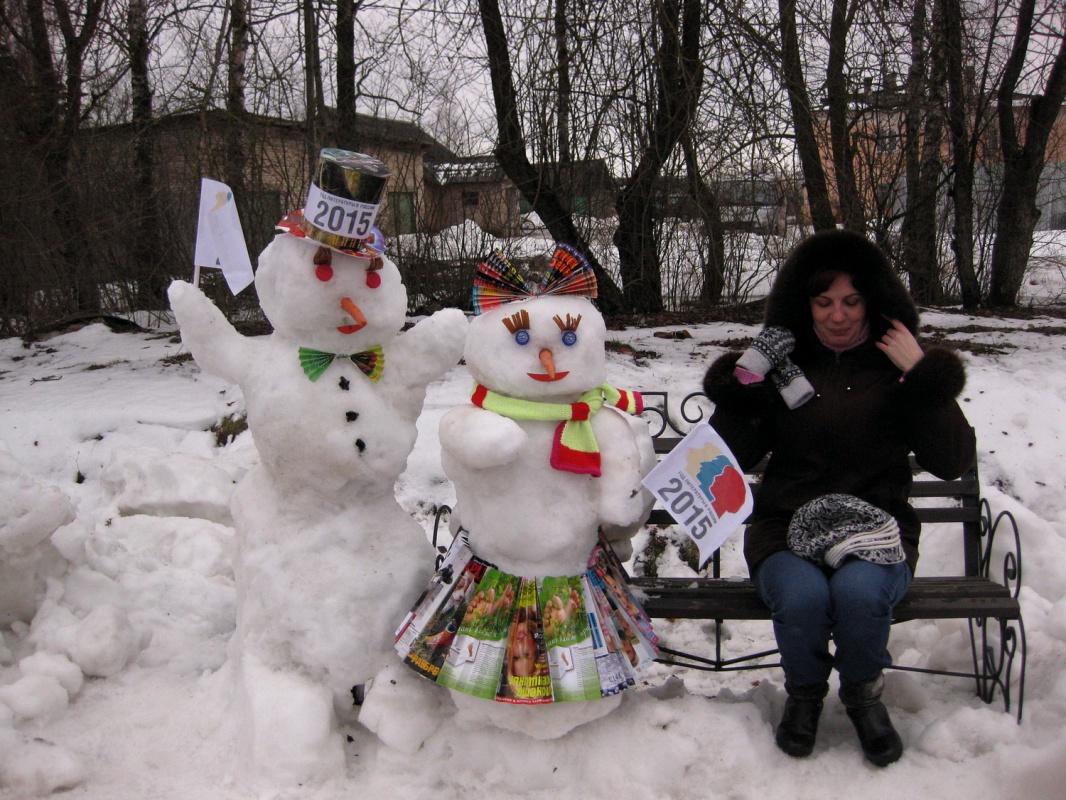 варианты лепки снеговиков фото руководство