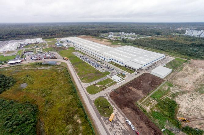 Завод «IKEA Industry» в Новгородском районе.