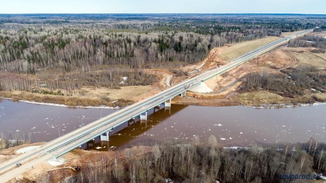 Мост через реку Мста. © Фото из архива интернет-портала «Новгород.ру»