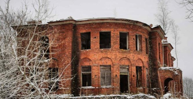 Усадьба в деревне Кострони Батецкого района. © Фото с сайта econom.novreg.ru