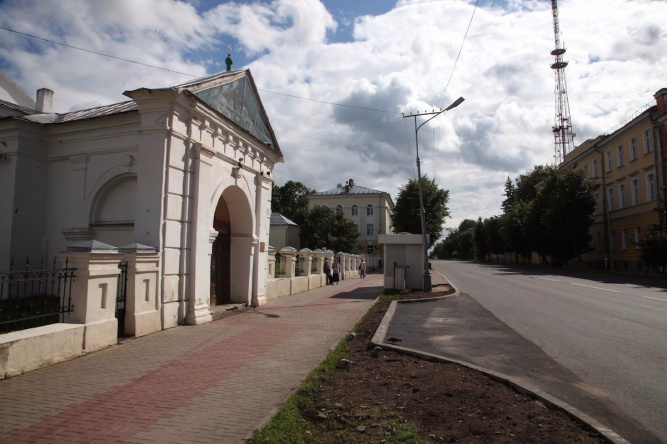 Церковь Дмитрия Солунского находится на ул. Большая Московская. © Фото общественного движения «Новый город»
