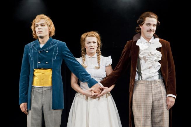 Спектакль «Страдания юного Вертера». © Фото предоставлено пресс-службой театра «Малый»