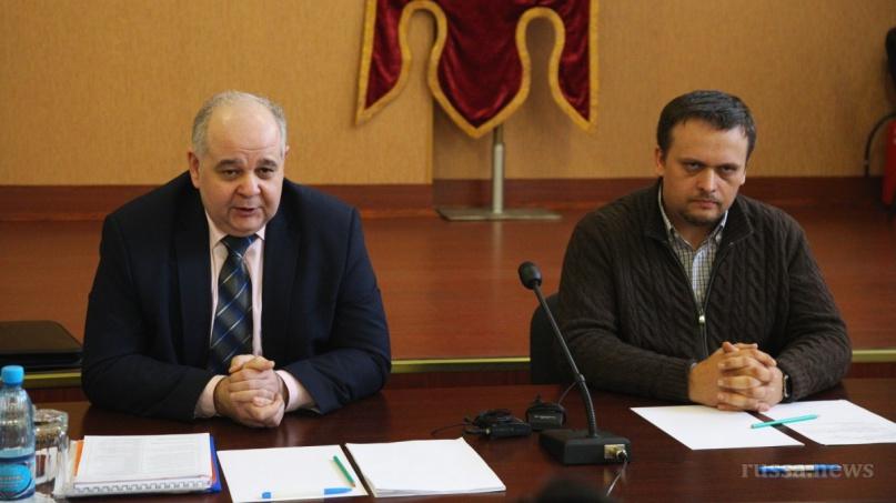 Василий Бордовский (слева). © Фото из архива газеты «Старая Русса»