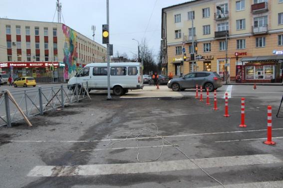 В Великом Новгороде 20% пешеходных переходов не соответствуют национальному стандарту