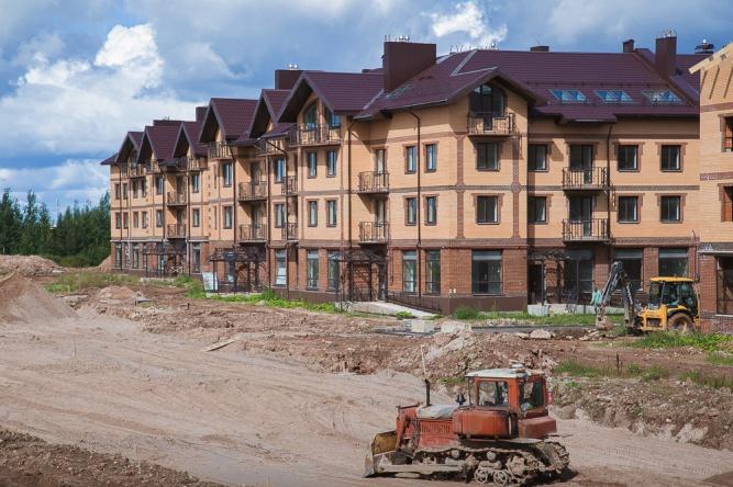 Микрорайон «Аркажская слобода». © Фото Сергея Суфтина (правительство Новгородской области)