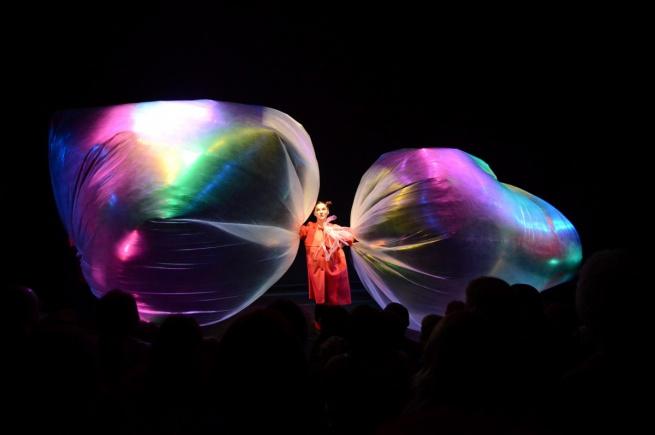Спектакль «Где живёт ветер?» новгородского театра для детей и молодёжи «Малый». © Фото Виктора Михайлова