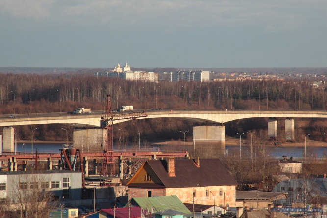 Колмовский мост. © Фото из архива интернет-портала «Новгород.ру»