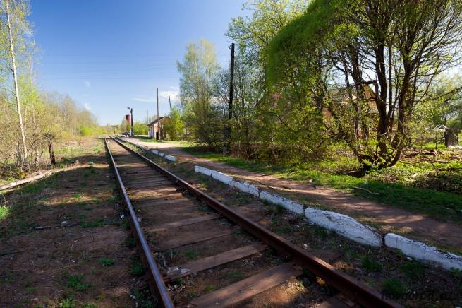 Платформа Любытино. © Фото из архива интернет-портала «Новгород.ру»