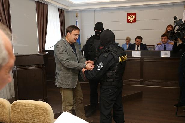 © Задержание Александра Кирбая. Фото с сайта www.genproc.gov.ru