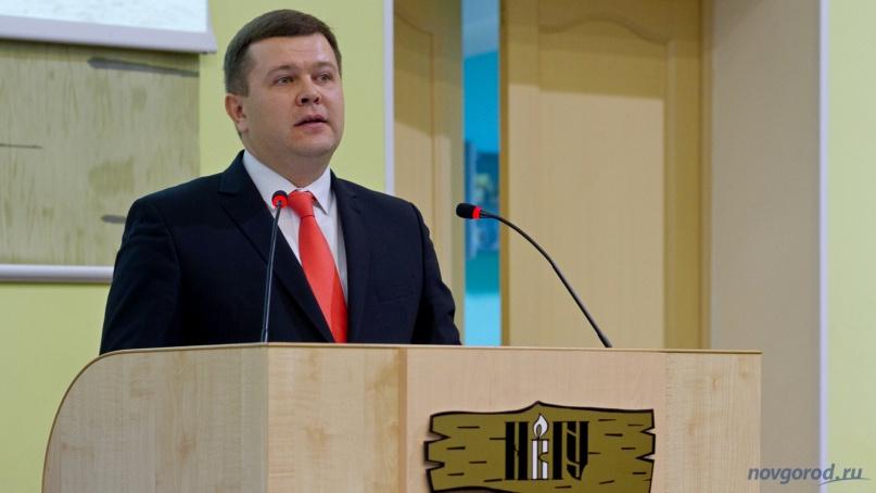 и.о. ректор НовГУ Юрий Боровиков. © Фото из архива интернет-портала «Новгород.ру»