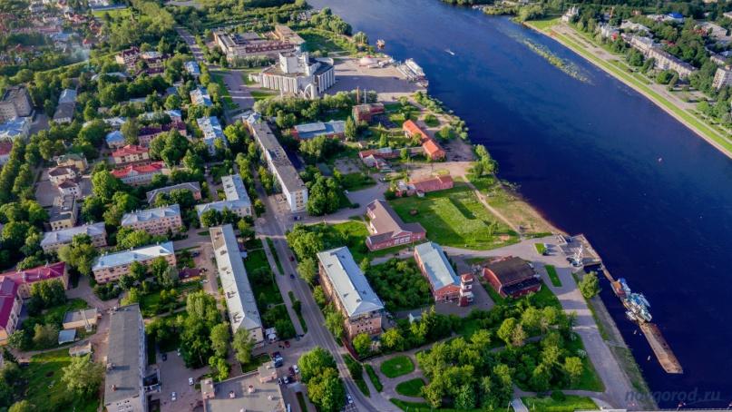 Улица Великая. Фото из архива интернет-портала «Новгород.ру» ©