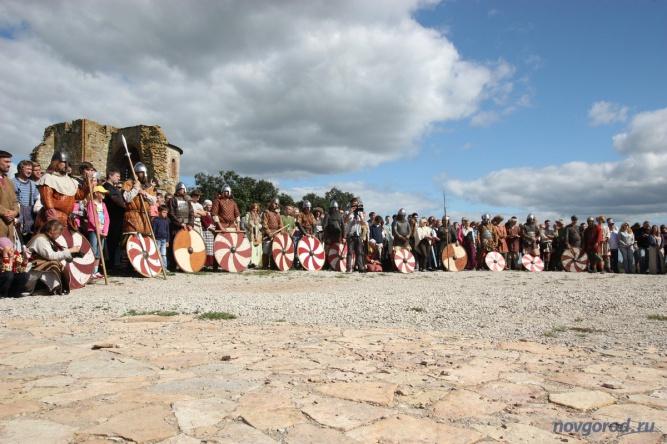 Фестиваль «Княжья Братчина». © Фото из архива интернет-портала «Новгород.ру»