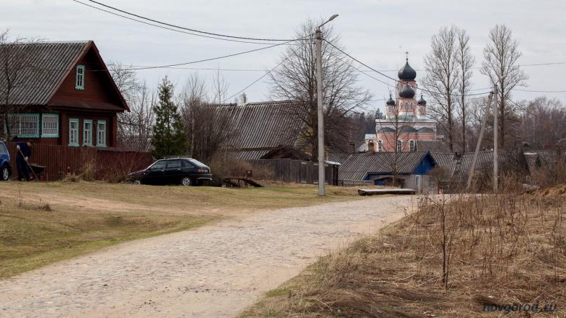 посёлок Крестцы. © Фото из архива интернет-портала «Новгород.ру»