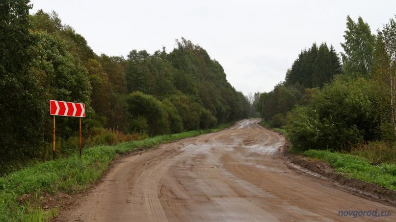 Дорога в Пестовском районе. © Фото из архива интернет-портала «Новгород.ру»