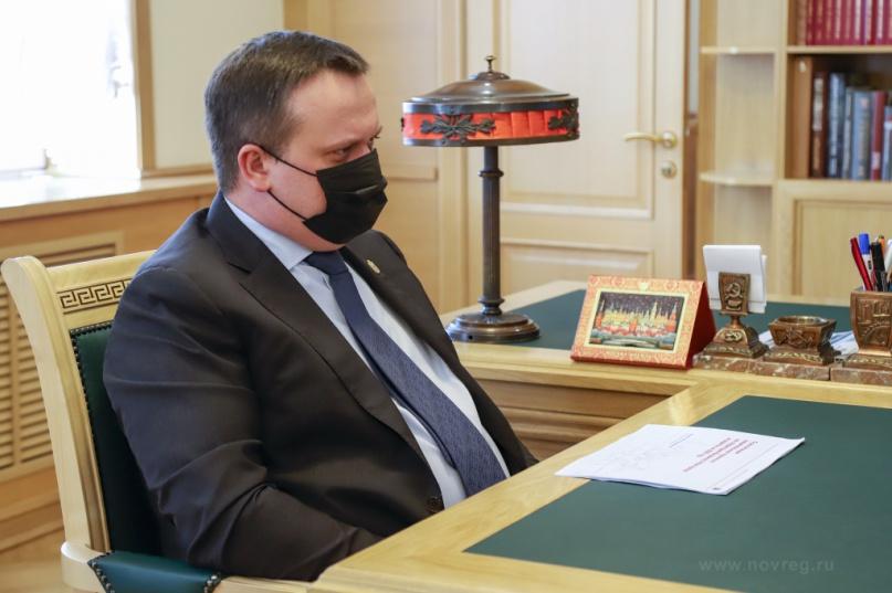 Губернатор Андрей Никитин. © novreg.ru