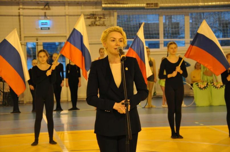 Министр спорта и молодежной политики Елена Кирилова.
