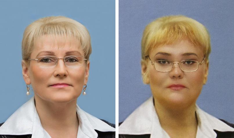 Ольга Ефимова (КПРФ) и Ольга Ефимова (КПСС).