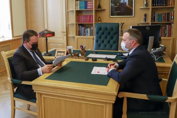 Мэр Сергей Бусурин попросил губернатора рефинансировать бюджетные кредиты