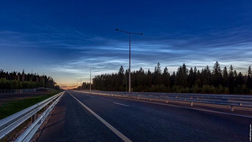 Автомагистраль М11 в обход Солнечногорска и Клина. © Фото из архива интернет-портала «Новгород.ру»