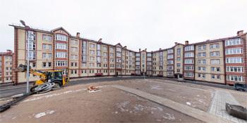 Панорама: Строительство домов на улице Шелонская