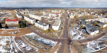 Панорама: Чудово, центральная часть города