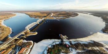 Панорама: Волхов-Мост