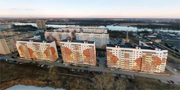 Панорама: Микрорайон «Луговой»