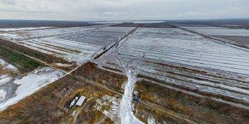 Панорама: Тёсовские торфоразработки