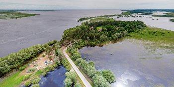 Панорама: Перынский скит и исток реки Волхов