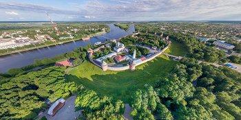 Панорама: Новгородский кремль