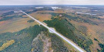 Панорама: Автомагистраль М11, пятый этап, обход Вышнего Волочка