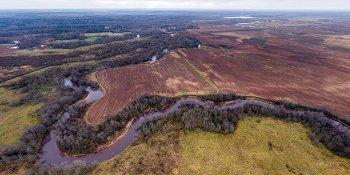 Панорама: Устье реки Ярынья