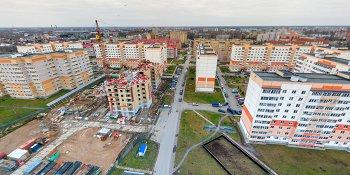 Панорама: Уплотнительная застройка в микрорайоне «Завокзальный»