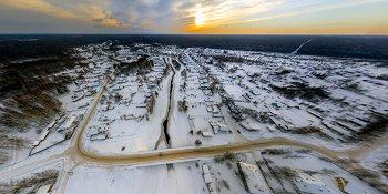 Панорама: Село Лычково