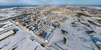 Панорама: Псковский микрорайон Великого Новгорода