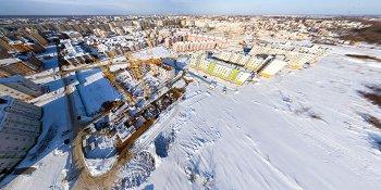 Панорама: Строительство ЖК «Радуга»