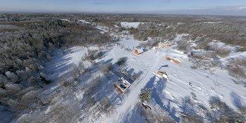 Панорама: Деревня Кривкино Демянского района