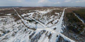 Панорама: Тёсовская узкоколейная железная дорога