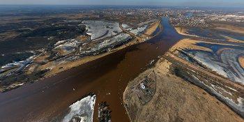Панорама: Свадьба рек в Великом Новгороде