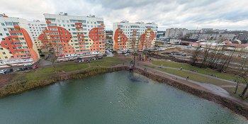 Панорама: Сквер «Луговой»