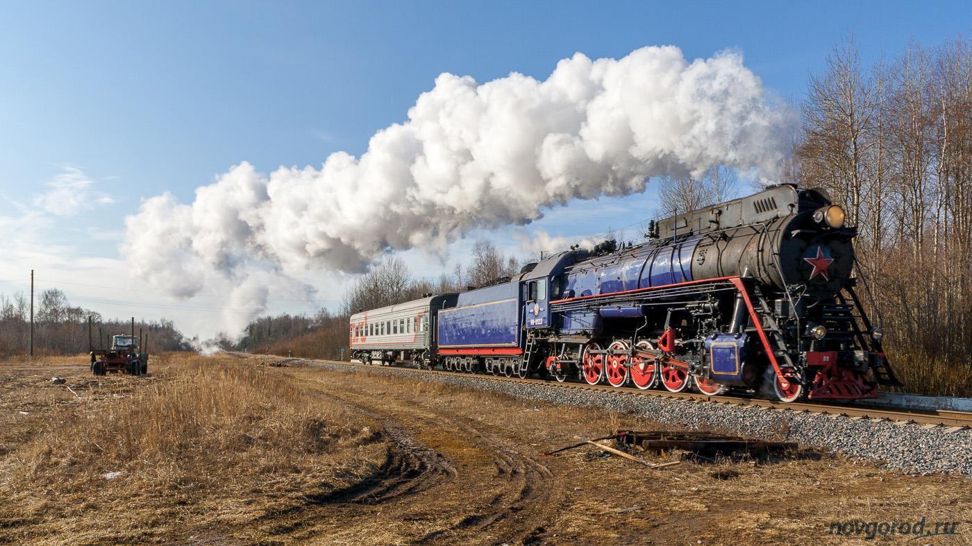 Паровозная экскурсия на железной дороге Великий Новгород — Новолисино.