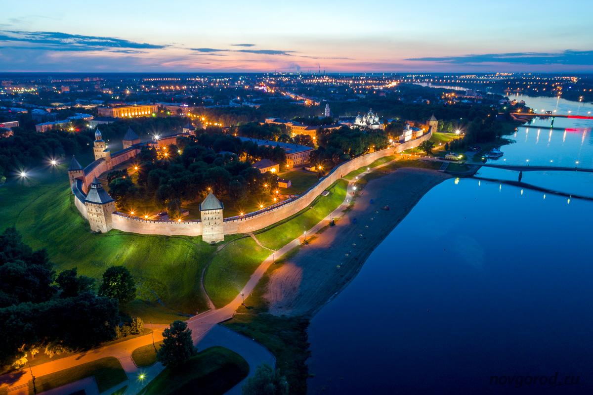 Панорама Великого Новгорода