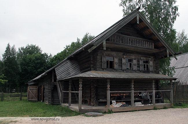 Изба Шкипарева Павла Антоновича из д. Частова Новгородского района
